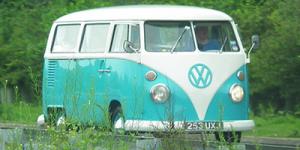 Volkswagen splittie camper van