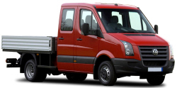crafter dbl cab dropside