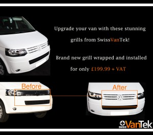 the volkswagen transporter grill