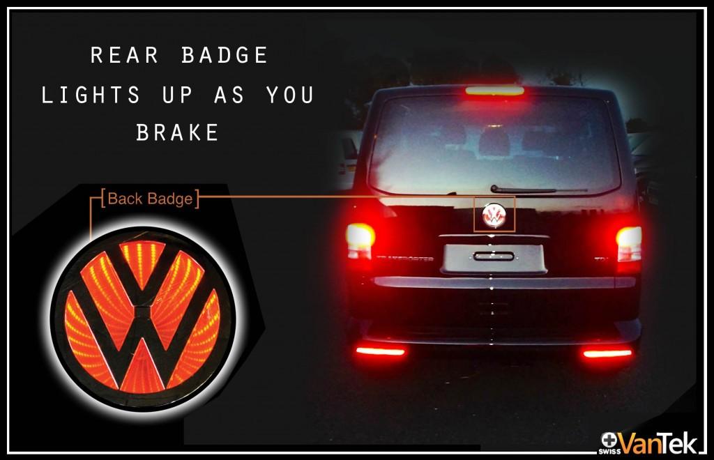 VW Transporter Badge