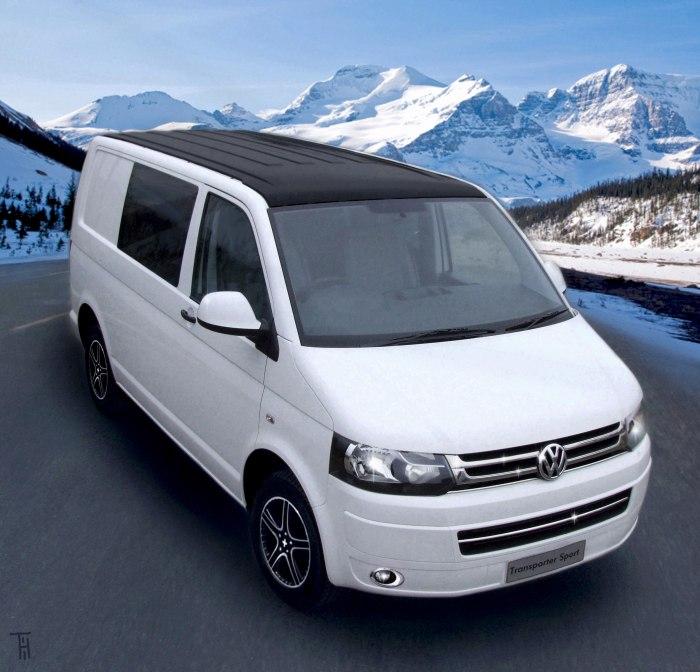 Volkswagen Transporter Kombi Sport Ice