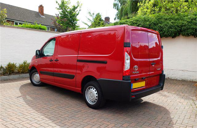 toyota proace for sale swiss vans ltd bridgend wales. Black Bedroom Furniture Sets. Home Design Ideas