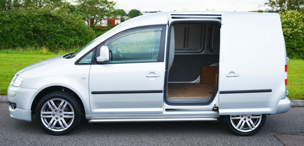 vw caddy sportline for sale swiss vans ltd south wales. Black Bedroom Furniture Sets. Home Design Ideas