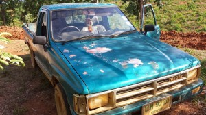 Old Toyota Pickup