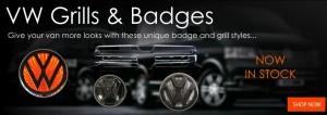 Grills and Badges van accessories