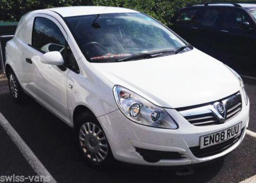Used Vauxhall Corsa Van