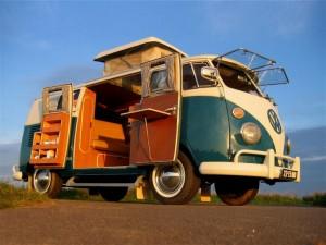 Sleek 1967 VW Westfalia