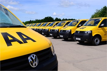 vw transporter the aa van of choice