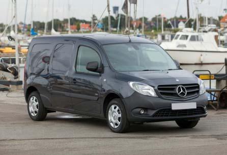 Mercedes Citan Compact Panel Van | Van Leasing - Swiss ...