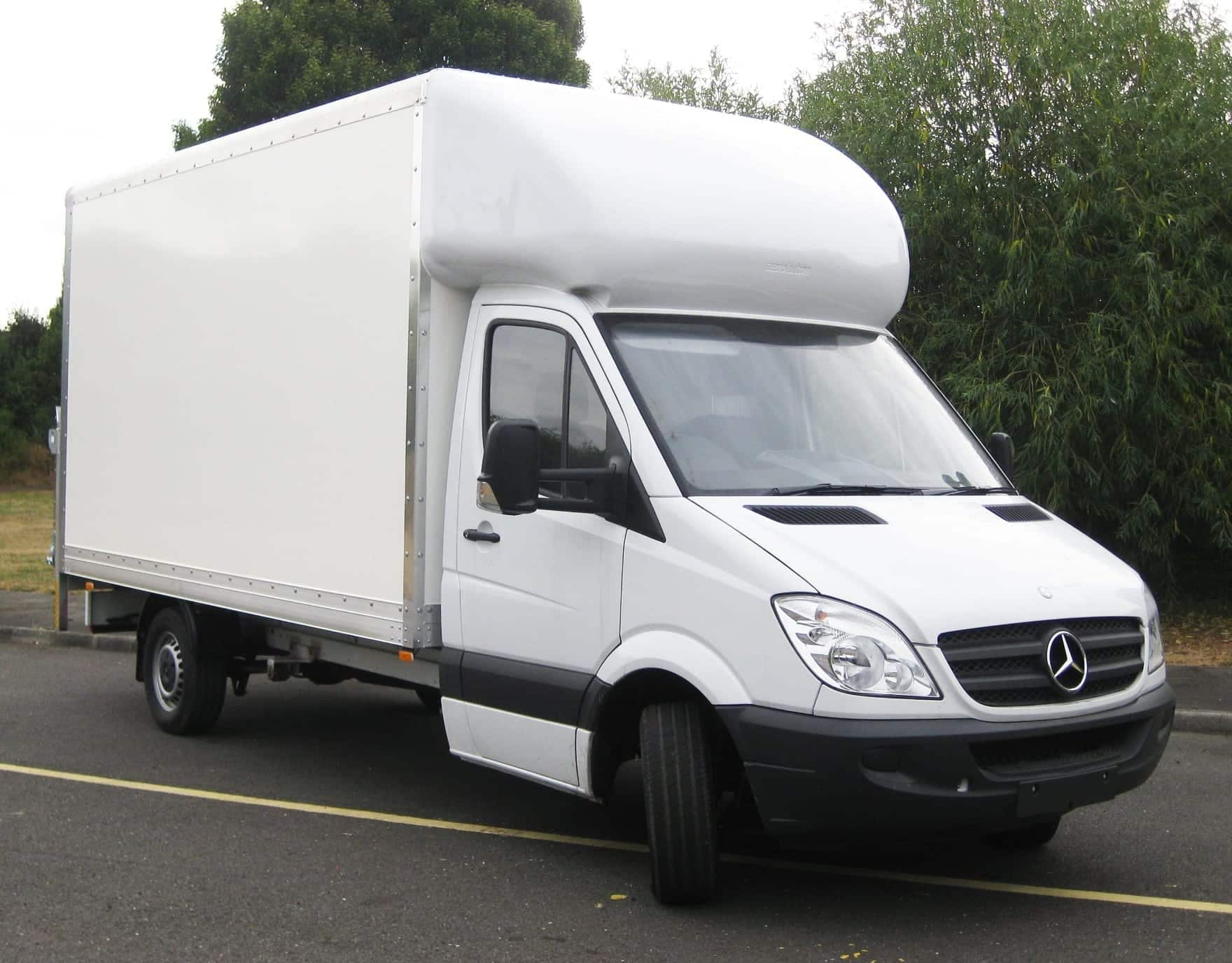 Mercedes Sprinter Luton Van Leasing Swiss Vans Ltd