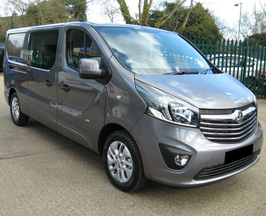 Vauxhall Vivaro Sportif Double Cab Order Yours Today