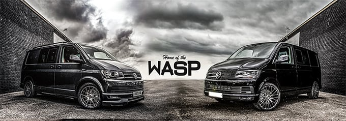 vw transporter kombi lease - WASP vans