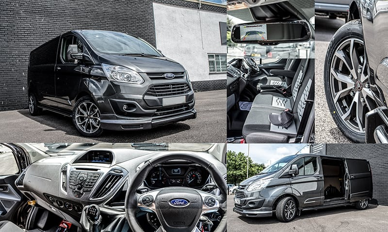ford custom business lease