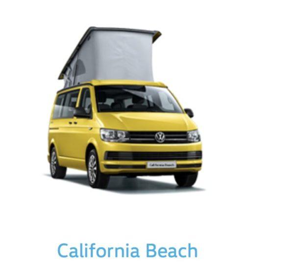 California Beach Yellow