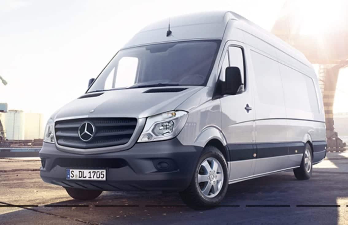 Mercedes Sprinter Extra Long Van Leasing Swiss Vans Ltd