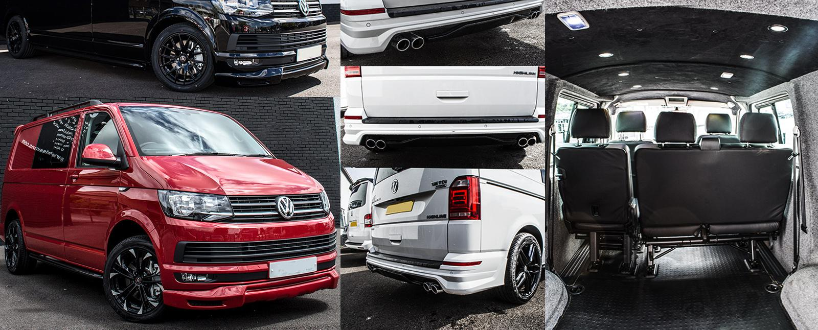 VW Transporter T6 Upgrades and mods