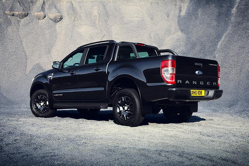 Ford Ranger Black Edition Swiss Vans Ltd Bridgend