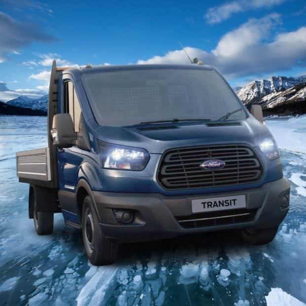 Swiss Vans Large Uk Ford: Ford Transit Dropside