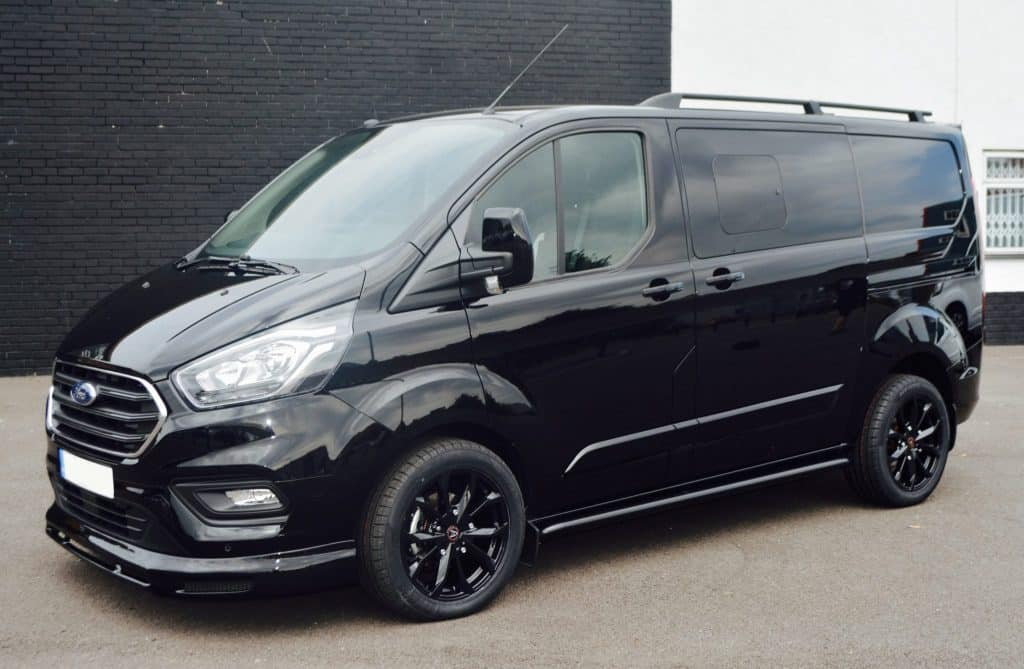 Ford Transit Custom WASP LWB Lease - Swiss Vans Ltd