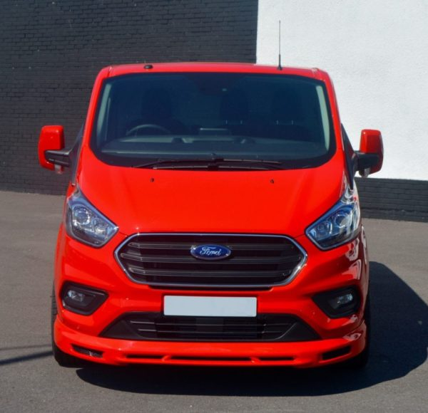 ford transit custom wasp red