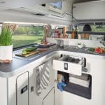 New Transit Custom Camper Nugget Kitchen