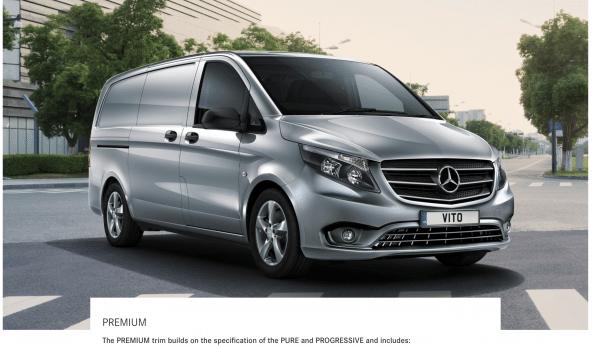 Mercedes Vito Premium