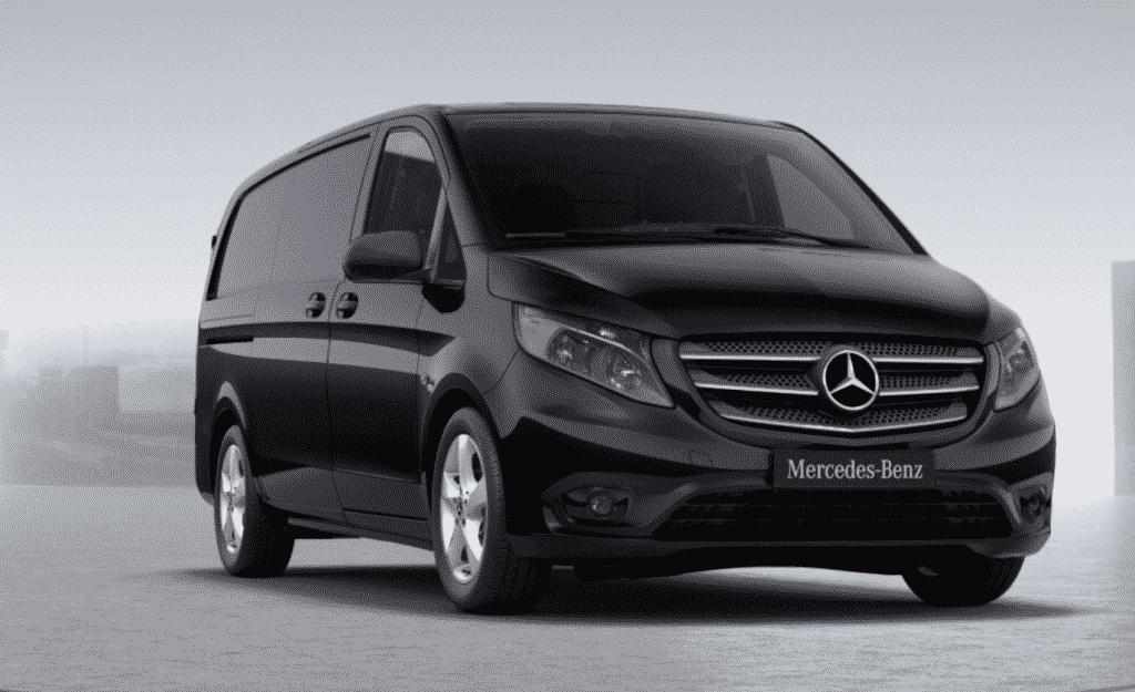 Black New Mercedes Vito Premium,